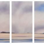 Snow Clouds (triptych)