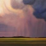 Waning Storm at Sundown